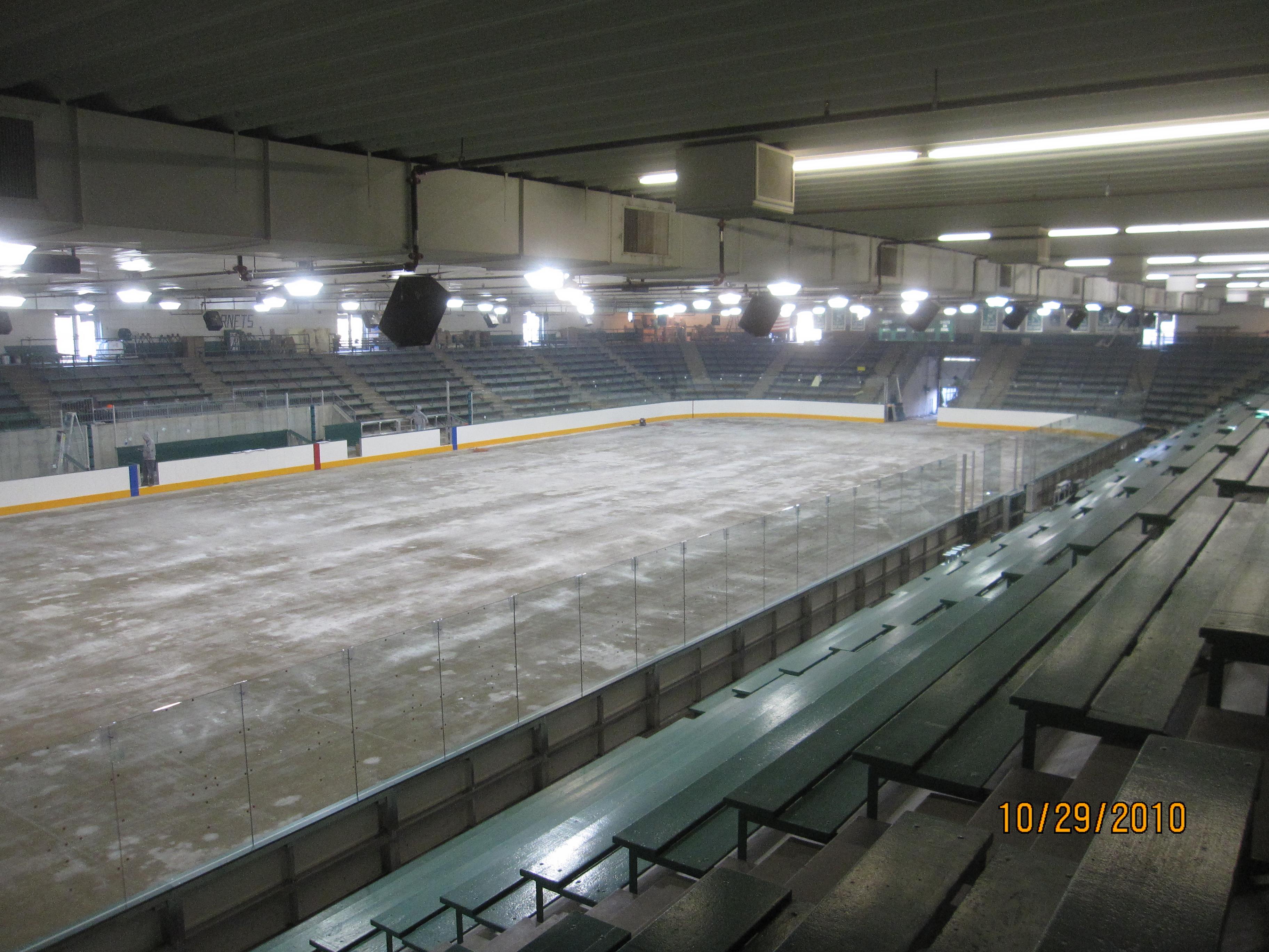 Braemar Arena B32 Engineering Group Building The Ice